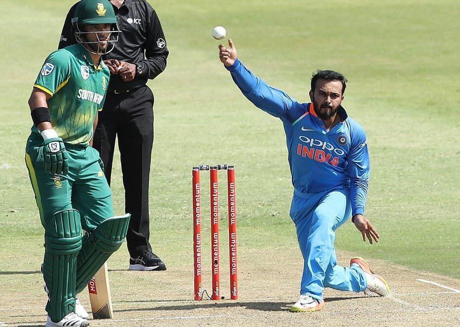 भारतीय टीम के पहला वनडे जीतने पर केदार जाधव ने इस खिलाड़ी को दिया इस जीत का पूरा-पूरा श्रेय 56