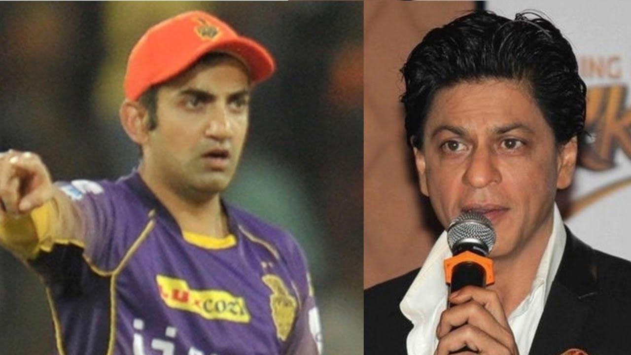 गौतम गंभीर को कोलकाता टीम से न जोड़ पाने के बाद पहली बार शाहरुख खान ने तोड़ी चुप्पी दिया ये भावुक बयान 48
