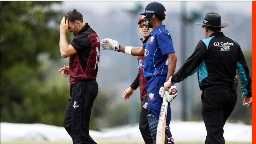 चमत्कार- बल्लेबाज ने खेला ऐसा करारा शॉट कि गेंद गेंदबाज के सिर पर लग पहुंची छक्के पर, लेकिन गेंदबाज को नहीं आयी कोई आंच 40