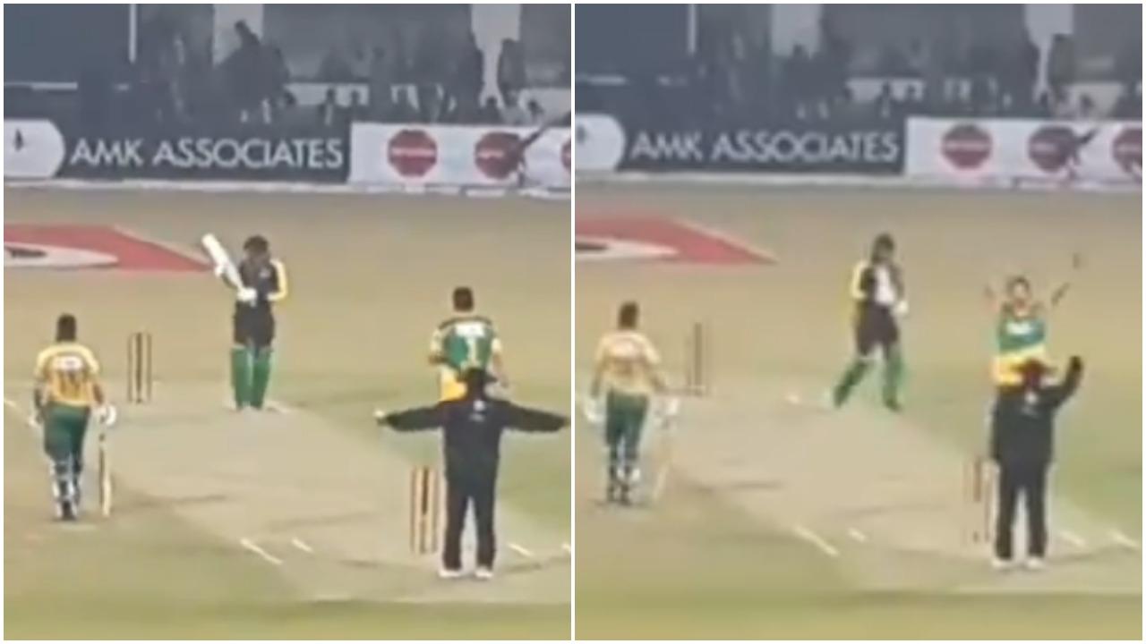 VIDEO: क्रिकेट जगत में अम्पायर का ऐसा इशारा आपने कभी नहीं देखा, देख शाम तक नहीं रुकेगी आपकी हंसी 48