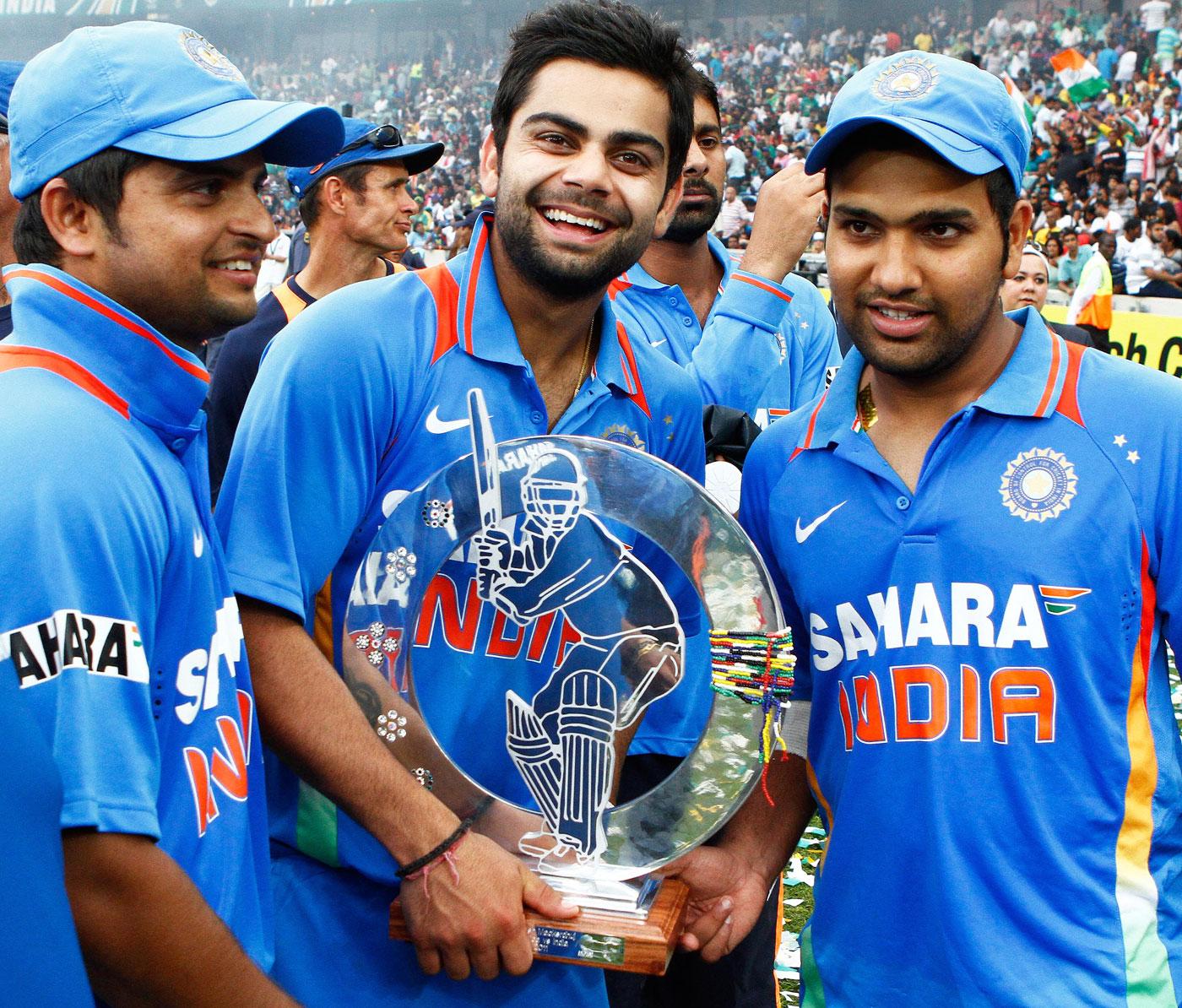 RECORD: टीम इंडिया की जीत में रोहित शर्मा का नाम दर्ज हुआ यह अनोखा कीर्तिमान, रैना और विराट के क्लब में हुए शामिल 11
