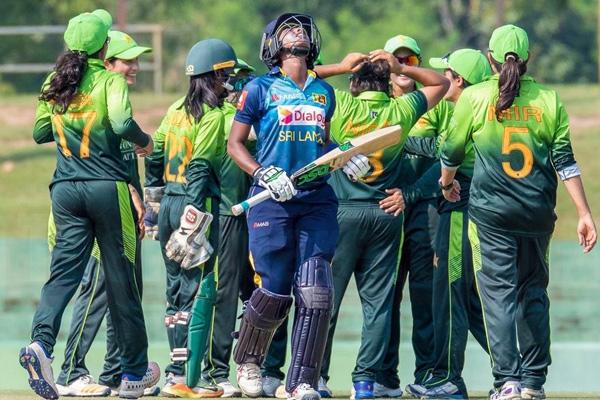 महिला क्रिकेट : पाकिस्तान ने श्रीलंका को 38 रनों से हराया