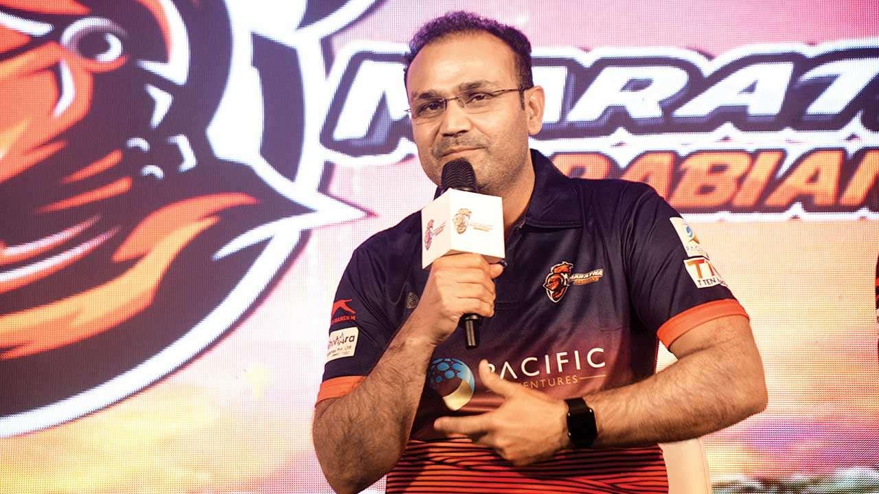 टी-10 लीग :  वीरेंद्र सहवाग की टीम को आंद्रे रसेल की टीम ने 8 विकेट से हराया, निकोलस पूरन ने फिर तोड़ा रिकॉर्ड 3
