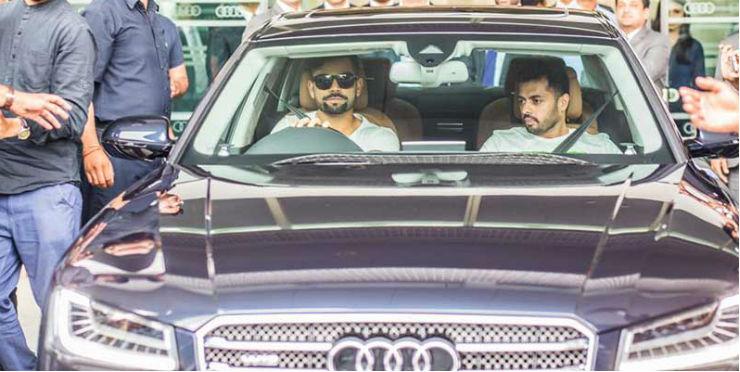 ऑडी गाड़ियों के फैन विराट कोहली ने खरीदी एक और नई कार