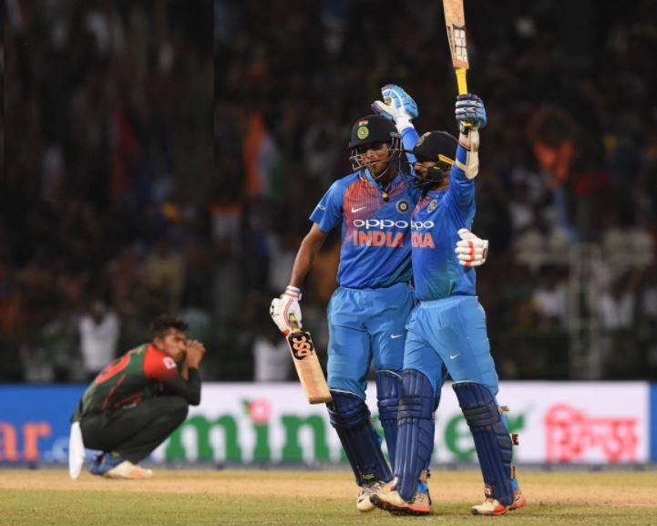 टीम इंडिया के निदहास ट्रॉफी जीतने के बाद ख़ुशी से गदगद हुई बीसीसीआई, रोहित एंड कम्पनी की जमकर हो रही हैं तारीफ 3