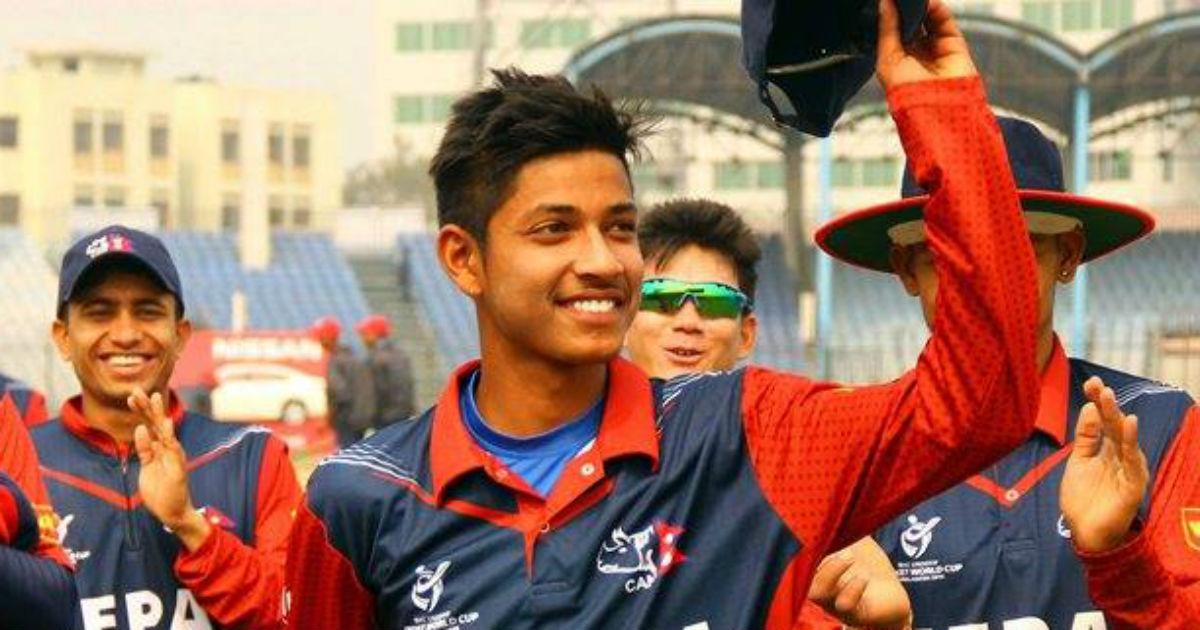 IPL 2018: आईपीएल खेलने वाले नेपाल के पहले खिलाड़ी संदीप लामिछाने पहनेंगे इस नम्बर की जर्सी, शेयर की तस्वीर
