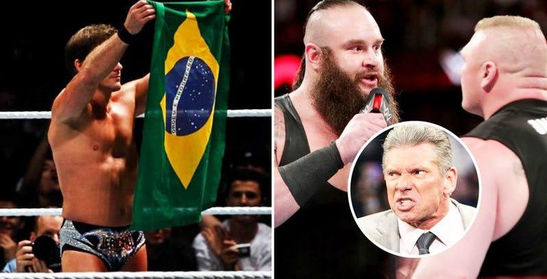 WWE रेस्लरो ने की ये छोटी सी गलतियाँ और विन्स मैकमोहन ने कर दिया सस्पेंड, इस रेसलर को मिली थी हैट पहनने की सजा 78