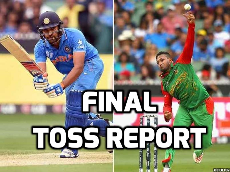 Nidahas Trophy: INDvBAN: भारत ने टॉस जीता पहले गेंदबाजी का फैसला, स्टार खिलाड़ी को मिली फाइनल के लिए भारतीय टीम में जगह 46