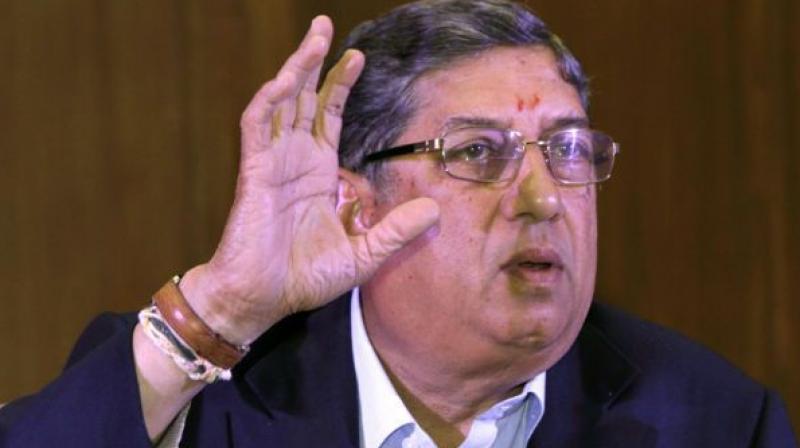 पद बचाने के लिए एन श्रीनिवासन के शरण में पहुंचे बीसीसीआई अधिकारी, पहले किया था श्रीनिवासन का विरोध