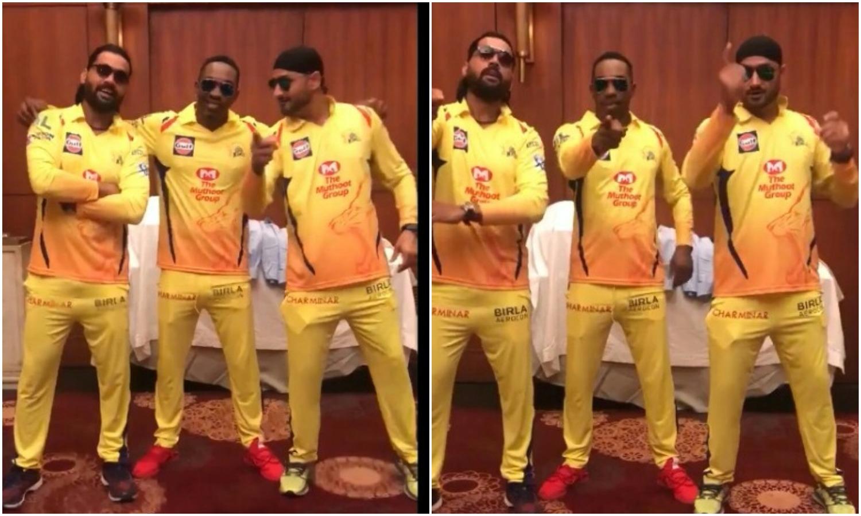 IPL 2018: आईपीएल के शुरू होने से पहले ही भज्जी, मुरली विजय और डीजे ब्रावो को चढ़ा आईपीएल का बुखार, यह मजेदार वीडियो देख नही रुकेगी आपकी हंसी 22