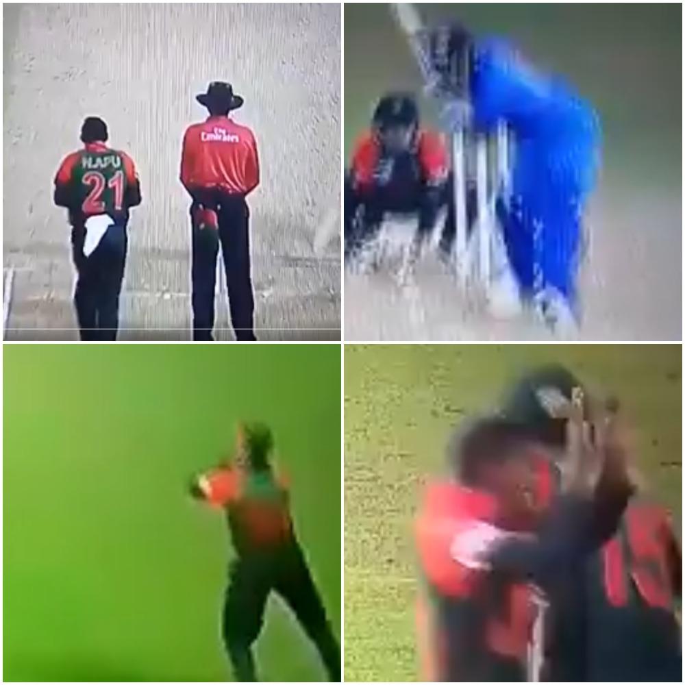 वीडियो : 13.2 ओवर में रोहित शर्मा हुए आउट तो बांग्लादेश ने एक बार फिर की ये शर्मनाक हरकत 35