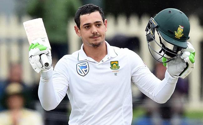 SA v ENG : क्विंटन डी कॉक की शानदार पारी के दम पर पहले दिन साउथ अफ्रीका 277/9 रन 27