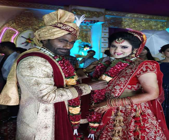 PHOTOS: गुपचुप तरीके से शादी के बंधन में बंधा यह भारतीय खिलाड़ी ग्रैंड रिसेप्शन की तस्वीरे आई सामने, पत्नी है बेहद खुबसूरत 1
