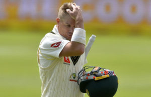 David warner is happy with his fans who still support him