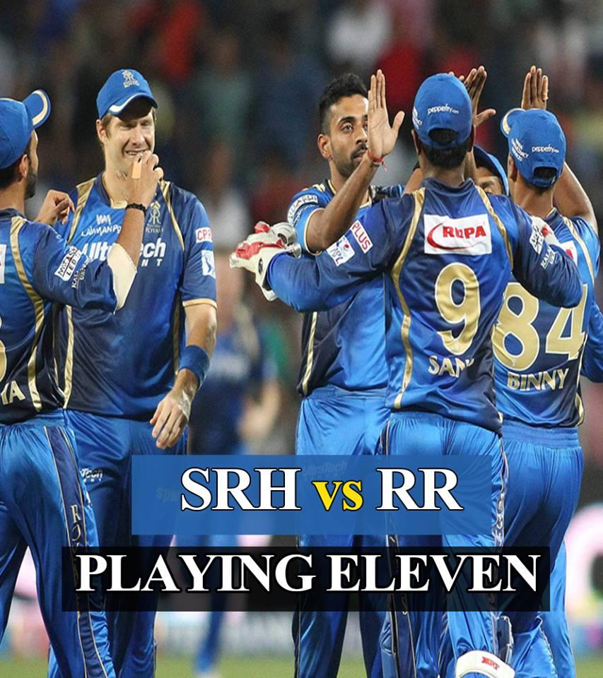 IPL 2018: राजस्थान रॉयल्स ने पहले मैच के लिए घोषित की अपनी प्लेयिंग XI, इन 11 खिलाड़ियों को दिया मौका 19