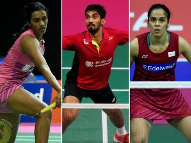 बैडमिटन : सायना, सिंधु, श्रीकांत एशियाई चैम्पियनशिप के क्र्वाटर फाइनल में