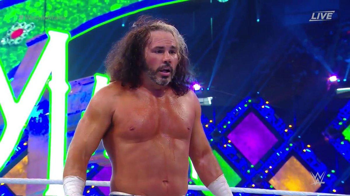 WWE WrestleMania 34: मैट हार्डी ने जीता आंद्रे द जाइंट मेमोरियल बैटल रॉयल मैच, फिर ब्रे वायट ने बढ़ाया दोस्ती का हाथ 1