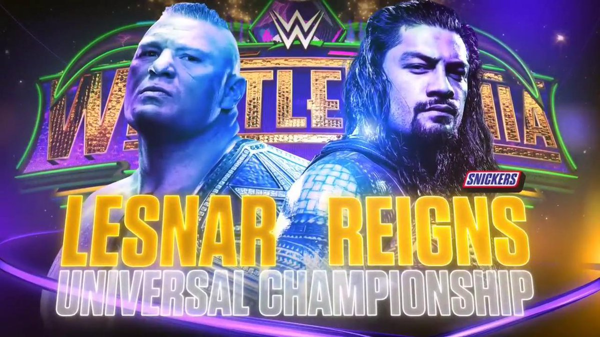 WWE WrestleMania 34: ब्रोक लेसनर ने रोमन रेन्स को सुप्लेक्स सिटी देकर जीता WWE युनिवर्सल चैम्पियनशिप, रोमन ने जीता दिल 9