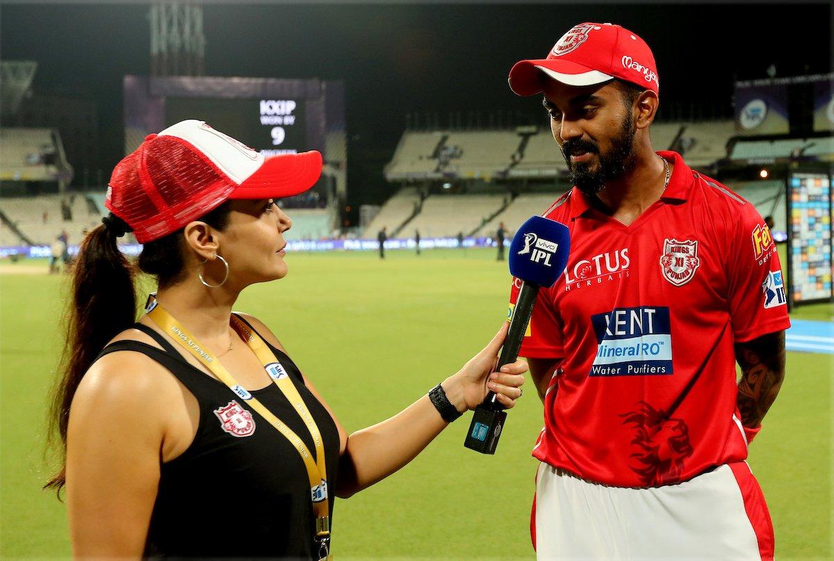 केकेआर के खिलाफ मैच के बाद लोकेश राहुल ने प्रीटी को बताया वो वजह जिसके कारण गेल उनके साथ ओपनिंग करते बना रहे है रन