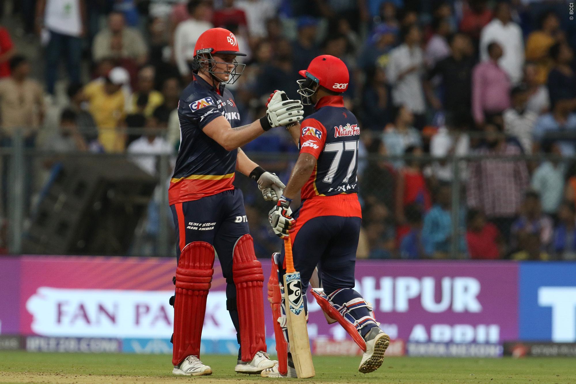 मैच रिपोर्ट: जेसन रॉय के तूफ़ान में उड़ी मुंबई, दिल्ली ने रोमांचक मुकाबले में 7 विकेट से दी करारी शिकस्त