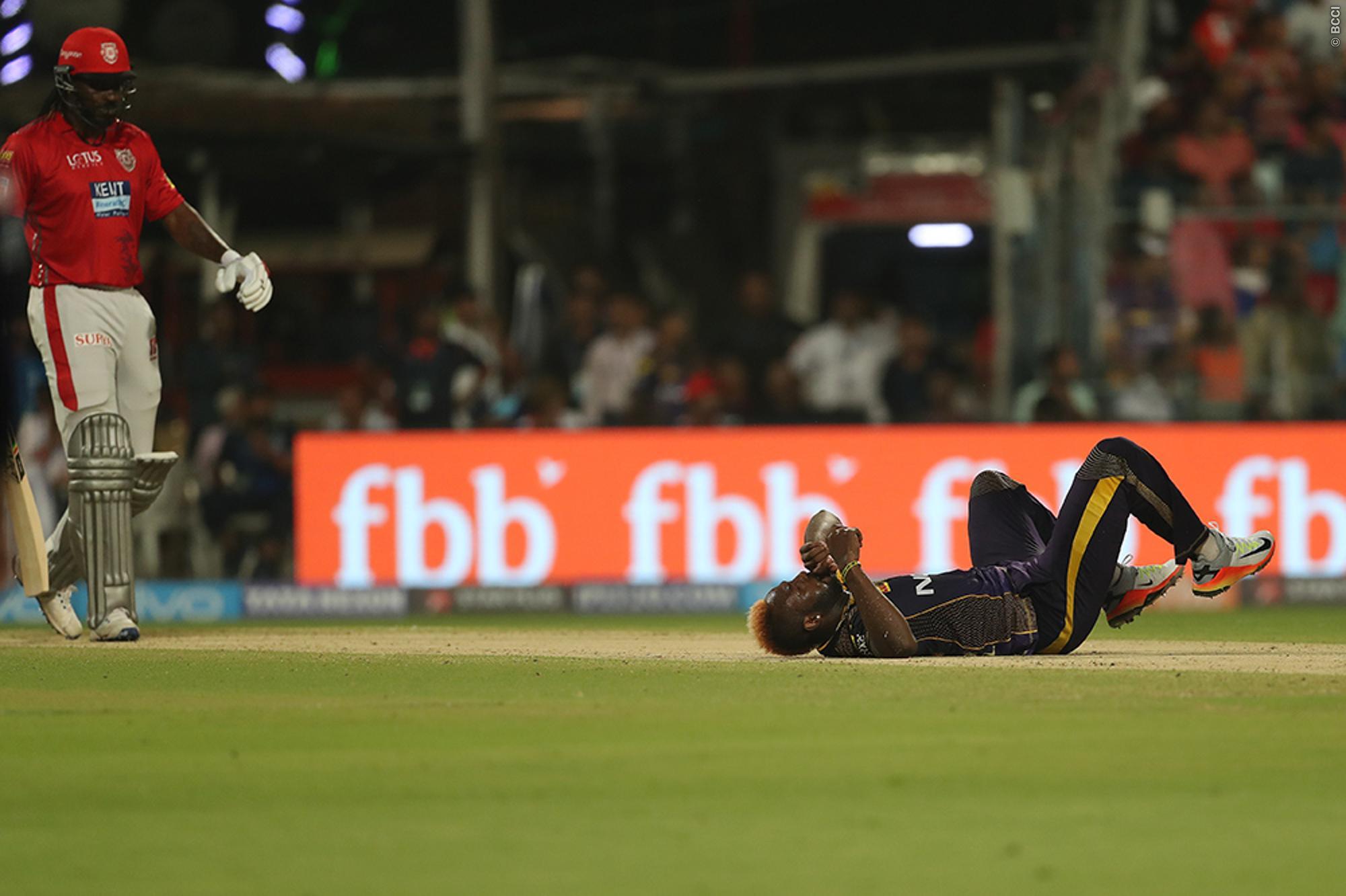 दर्द से कराहते हुए मैदान पर ही लेट गये आंद्रे रसल, तो विरोधी टीम के लोकेश राहुल ने किया कुछ ऐसा जीता करोड़ो लोगो का दिल 2