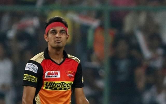 सनराइजर्स हैदराबाद के तेज गेंदबाज सिद्धार्थ कौल से नाराज हुआ बीसीसीआई दोबारा की गलती तो लग सकता है प्रतिबन्ध 1