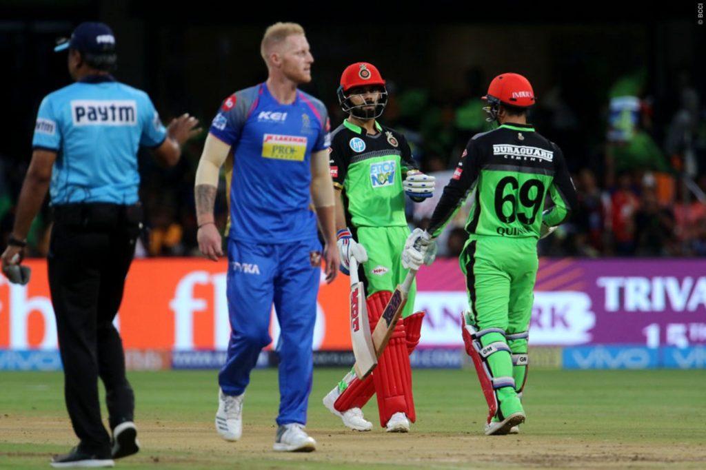 IPL 2018- मैच के शुरू होने से पहले ही विराट कोहली की इस गलती की वजह से बैंगलोर ने गंवाया मैच 5