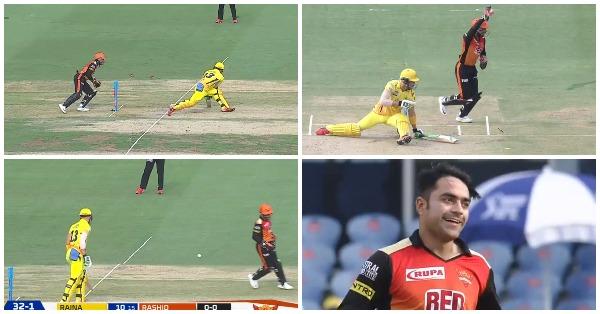 VIDEO: 7.1 ओवर में साहा ने धोनी स्टाइल में  किया डूप्लेसिस को स्टम्प और फिर मैदान पर दिखा अम्पायर का ये ड्रामा 32