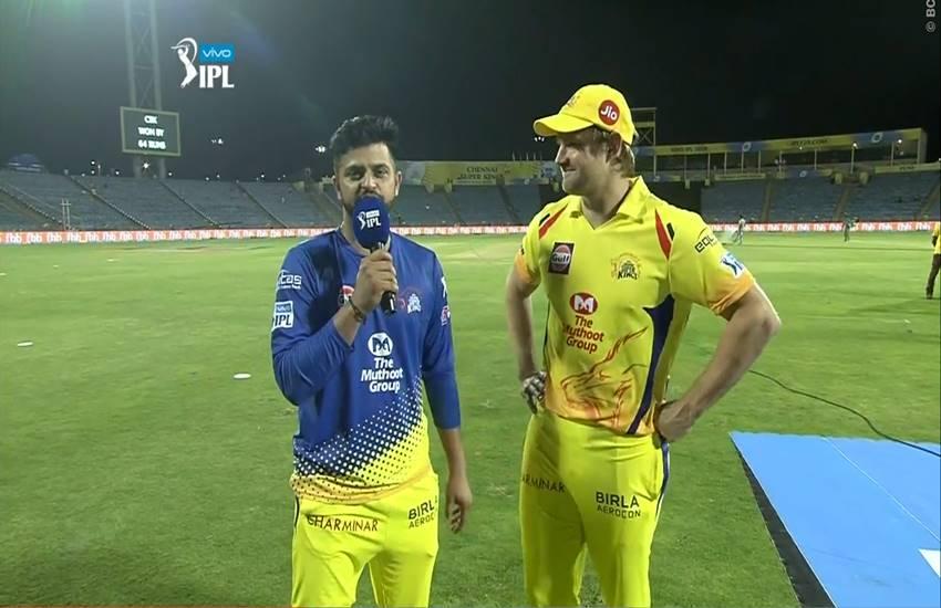शतकीय पारी खेलने के बाद ऑस्ट्रेलियाई और भारतीय कप्तानो की तुलना करते हुए वाटसन ने इन्हें बताया बेस्ट कप्तान 60