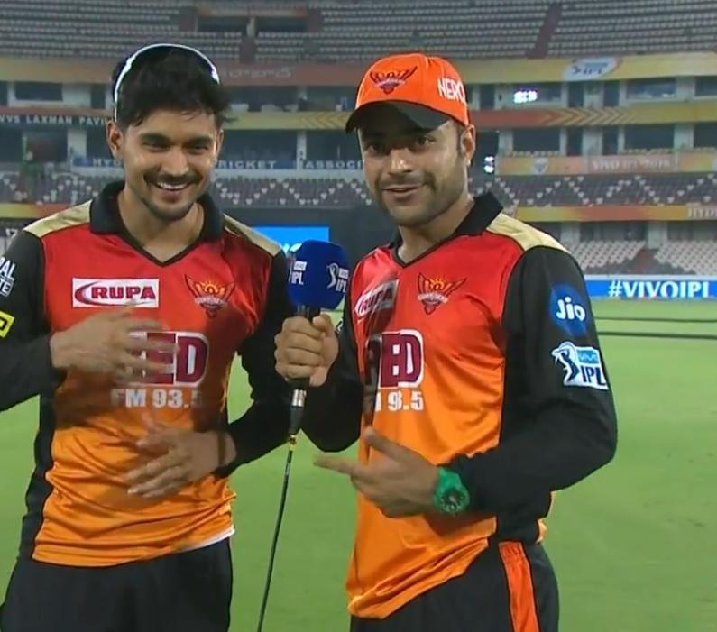 """राशिद खान इस खिलाड़ी को मानते है सनराइजर्स हैदराबाद का """"राजकुमार"""""""