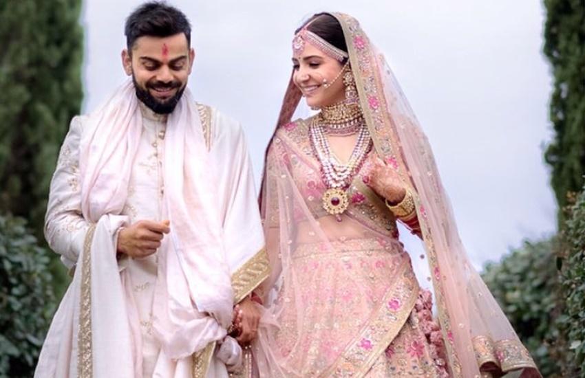 विराट ने पहनी अनुष्का शर्मा के नाम की टी-शर्ट, सोशल मीडिया पर तेजी से हो रही वायरल