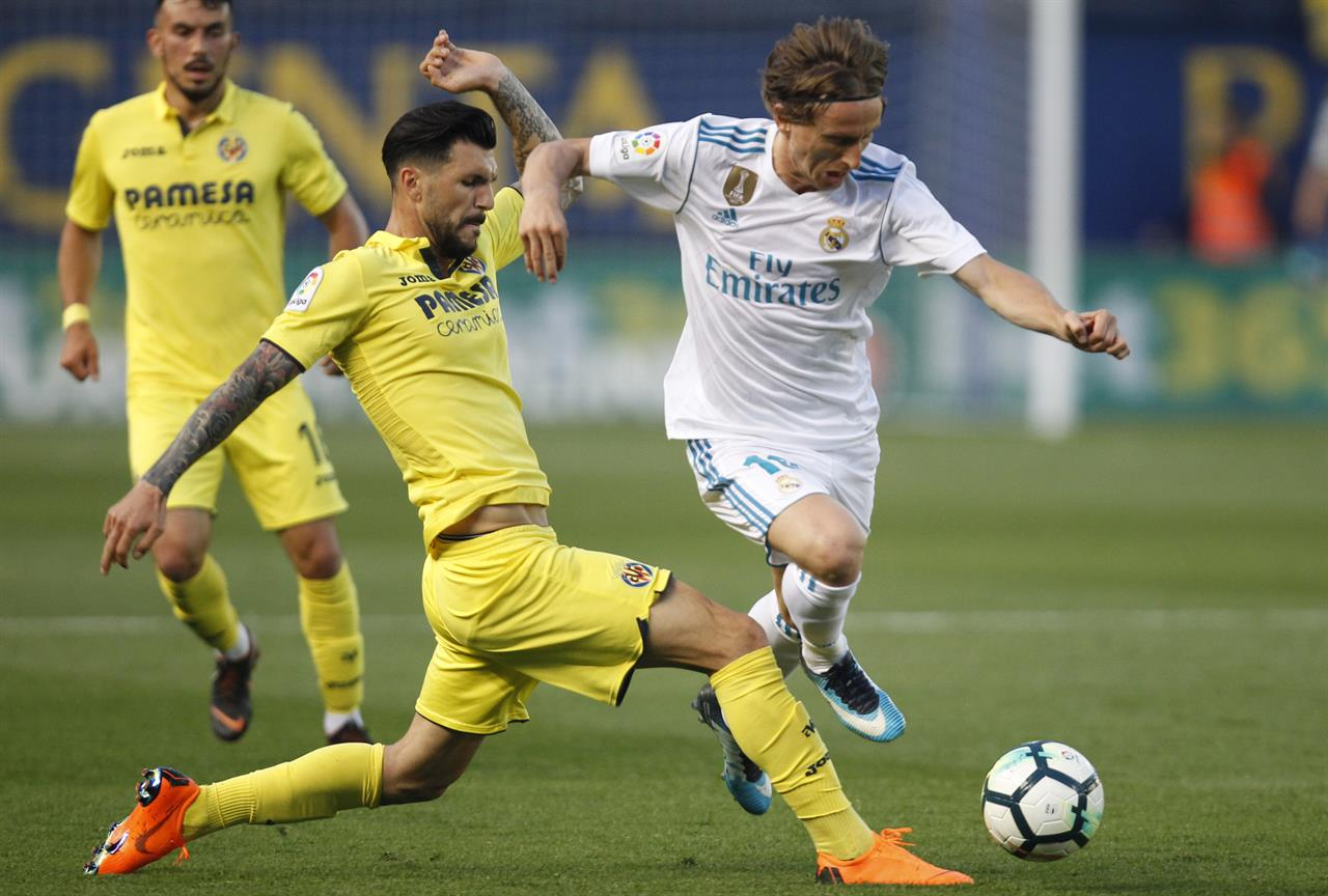 स्पेनिश लीग : रियल का विलारियल के साथ मैच 2-2 से ड्रॉ
