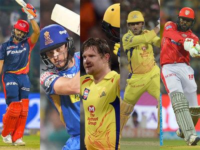 IPL 2018: आईपीएल 2018 में सबसे ज्यादा गेंदों का सामना करने वाले 5 खिलाड़ियों में 4 भारतीय