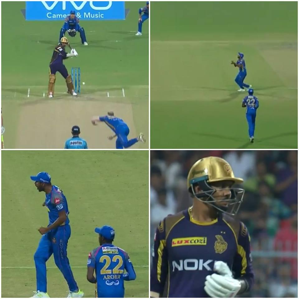 वीडियो: सुनील नरेन का कैच पकड़ने के बाद गौतम ने खोया आपा मैदान पर कर गये ये शर्मनाक हरकत 24