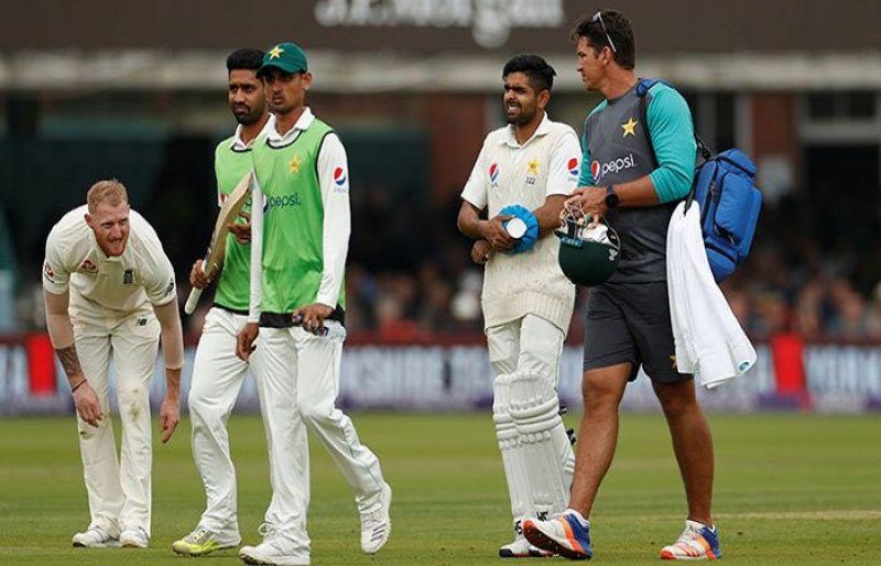 चोट के कारण इंग्लैंड दौरे से बाहर हुए बाबर आजम