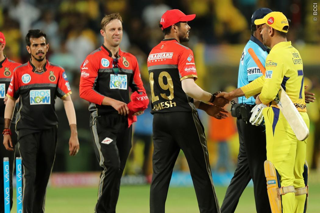 टॉस से पहले ही विराट कोहली की इस गलती की वजह से बैंगलोर के सामने आसानी से जीतने में सफल रही चेन्नई