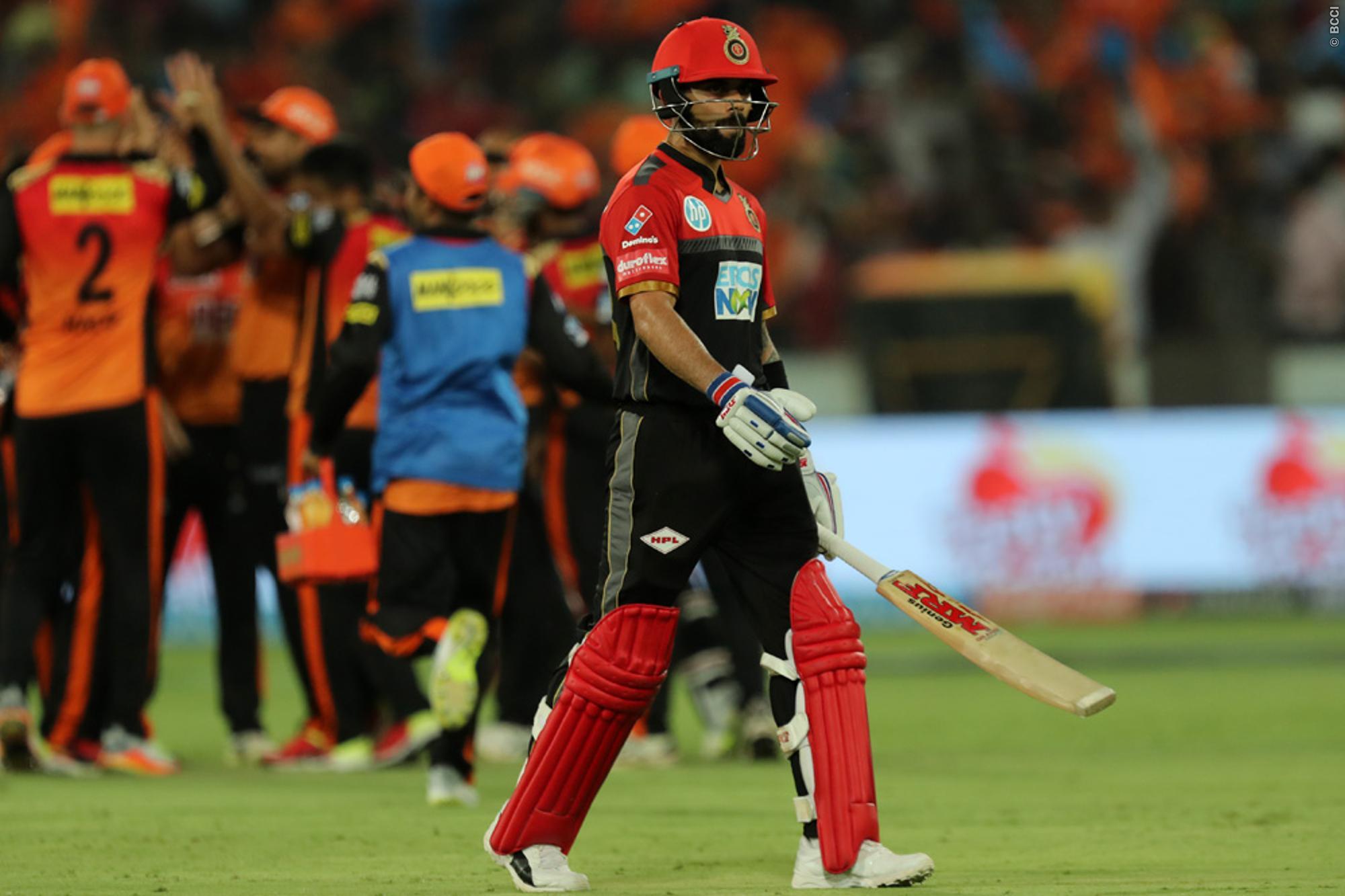 IPL 2018: आईपीएल से बाहर होने के बाद फूटा विराट कोहली का गुस्सा सीधे तौर पर इन्हें ठहराया हार का जिम्मेदार