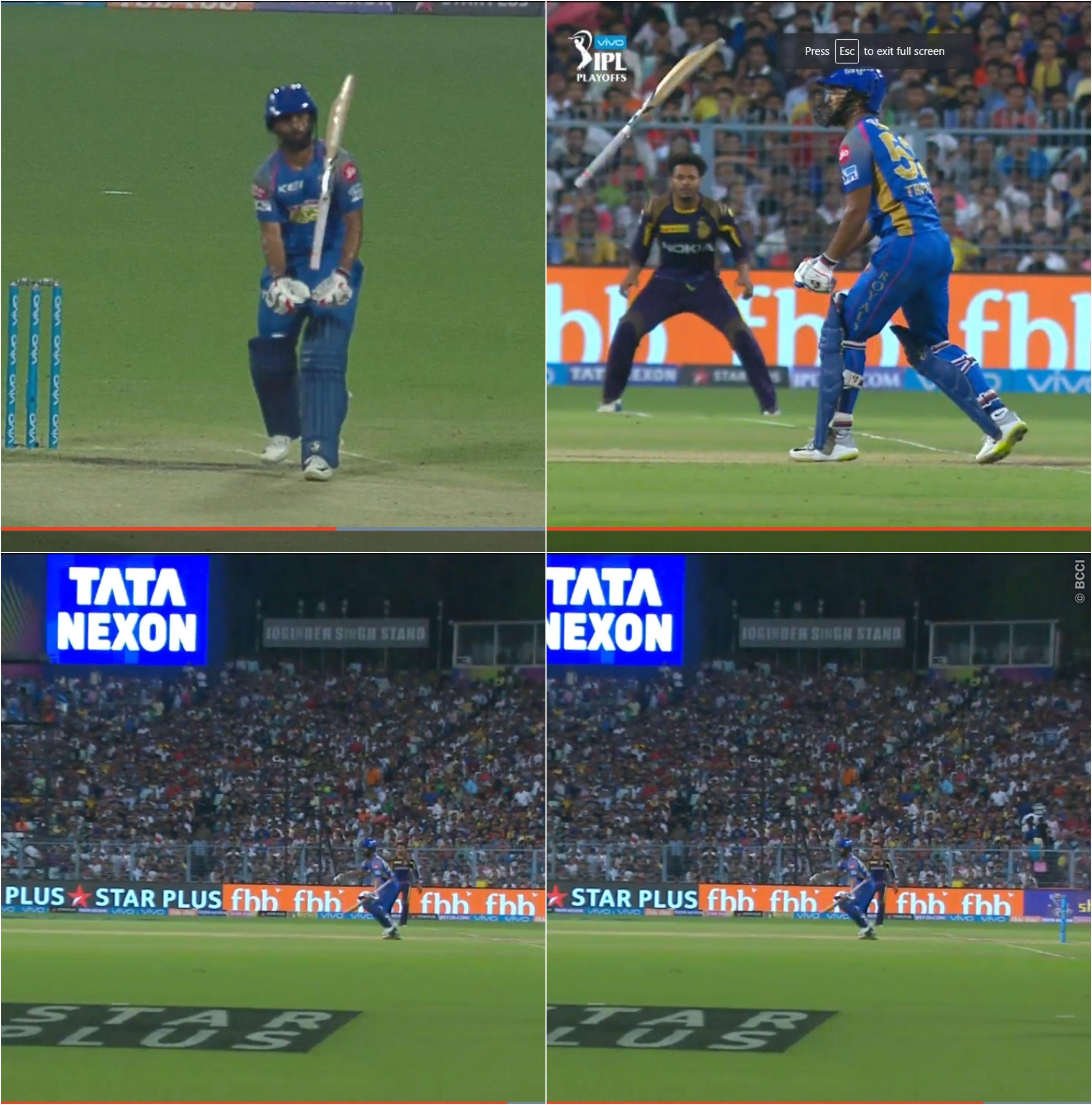 वीडियो : बल्लेबाजी करते हुए राहुल त्रिपाठी छोड़ बैठे अपना बैट, अंपायर समेत सभी हुए हैरान 24