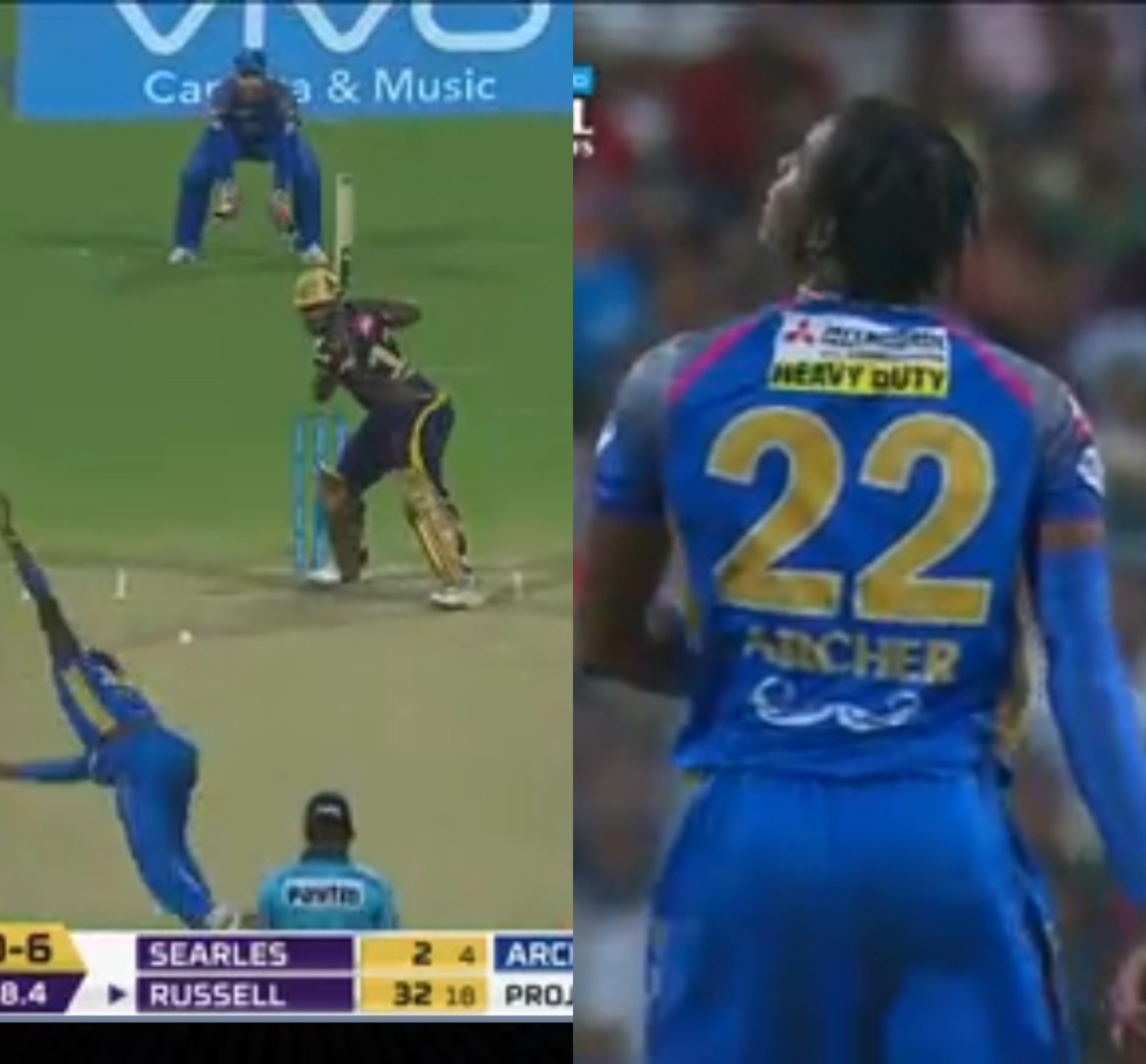 वीडियो : एलिमिनेटर मैच में आंद्रे रसेल ने जड़ा टेनिस शॉट वाला सिक्स, देख आप भी रह जायेंगे दंग