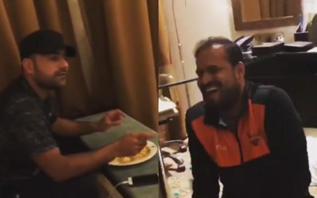 VIDEO: फाइनल से पहले टीम के साथी खिलाड़ी खलील अहमद पर भड़क उठे थे राशिद खान, जाने क्या थी वजह 14