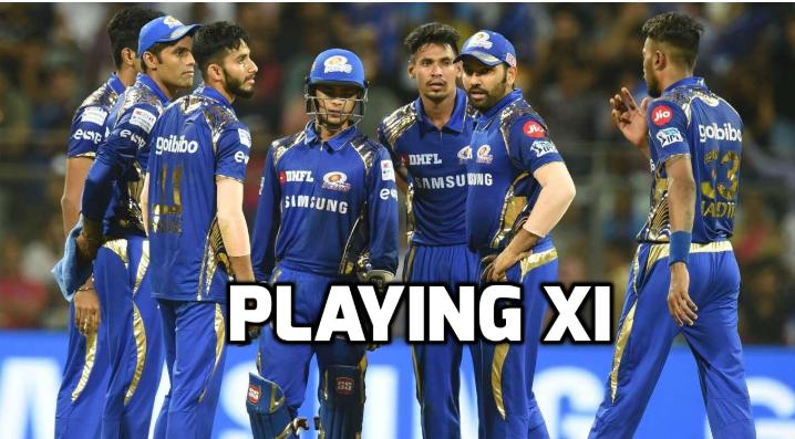 PLAYING XI: प्ले ऑफ में जगह सुनिश्चित करने के लिए रोहित शर्मा ने चली बड़ी चाल, इन दो विदेशी खिलाड़ियों को दी प्लेयिंग XI में जगह!