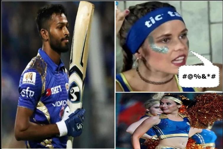 VIDEO: हार्दिक पंड्या ने कल दिल्ली के खिलाफ खेला एक गलत शॉट, चीयरलीडर्स ने दी गंदी गाली, वीडियो हुआ वायरल 10