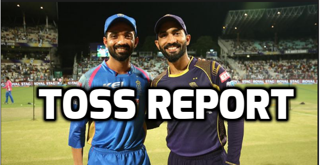 KKRvsRR : टॉस रिपोर्ट : राजस्थान ने टॉस जीत चुनी गेंदबाजी, रहाणे ने टॉस जीत गेंदबाजी चुनने का बताया यह कारण 3