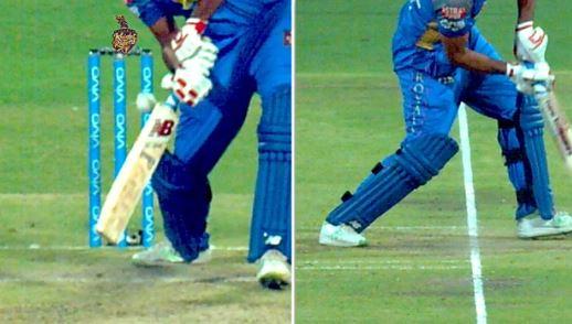 VIDEO: आईपीएल इतिहास का सबसे अनोखा विकेट, पैर से लगकर हुआ कैच