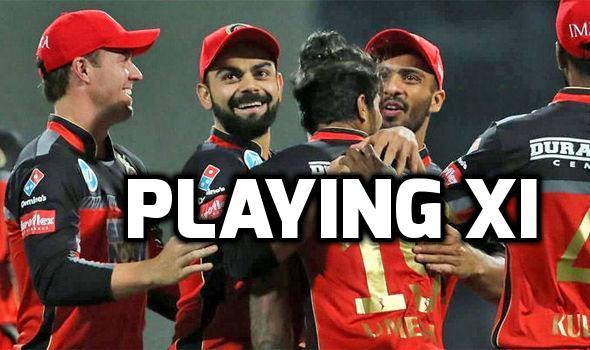 PLAYING XI: राजस्थान के खिलाफ प्ले ऑफ का टिकट लेने के लिए विराट ने इन 11 खिलाड़ियों को दिया मौका, जाने कौन हुआ बाहर और किसे मिली जगह