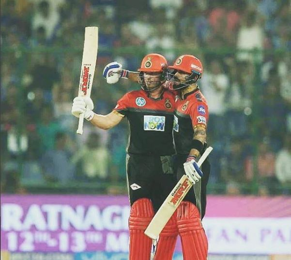 """Virat kohli say's """"divilliers is great and have loved batting with him"""""""