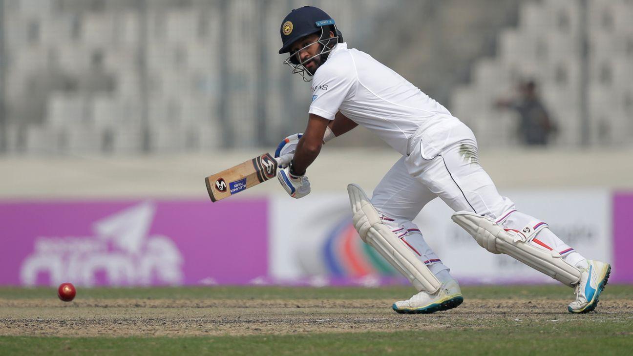 श्रीलंका क्रिकेट टीम को झटका, दिमुथ करुणारत्ने भी हुए चोटिल