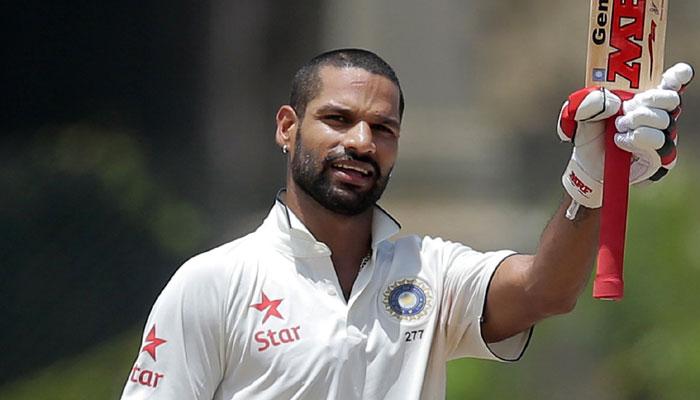 टेस्ट मैच के पहले दिन के पहले सत्र में शतक लगाने वाले दुनिया के 6 वें बल्लेबाज बने शिखर धवन, ये है वो 5 6