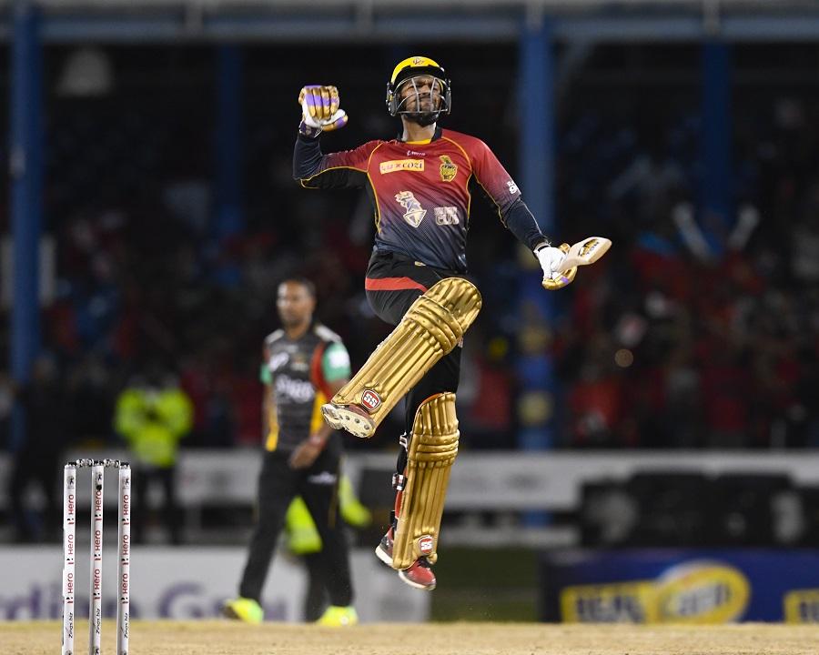 सीपीएल : शाहरुख़ खान की टीम ने 6 विकेट से जीत हासिल कर बनाई क्वालीफायर-2 में जगह 2