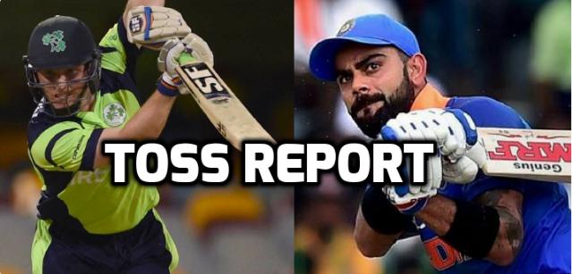 IREvsENG : टॉस रिपोर्ट : आयरलैंड ने टॉस जीत चुनी गेंदबाजी, कप्तान विल्सन ने बताया टॉस जीत गेंदबाजी करने का कारण